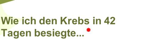Breuss Krebstherapie Rezept
